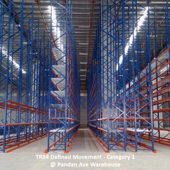 TR34 Defined Movement - Category 1 @ Pandan Ave Warehouse