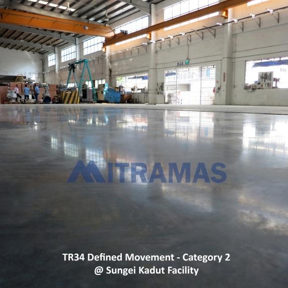 TR34 Defined Movement - Category 2 @ Sungei Kadut Facility