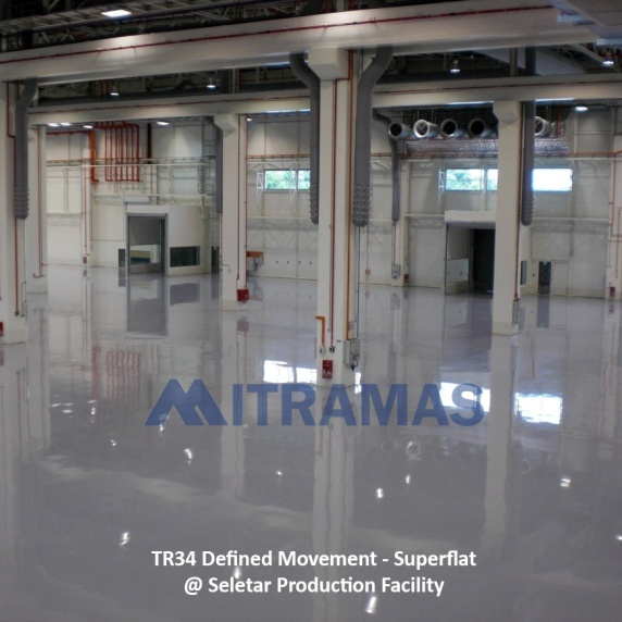 TR34 Defined Movement - Superflat @ Seletar Production Facility
