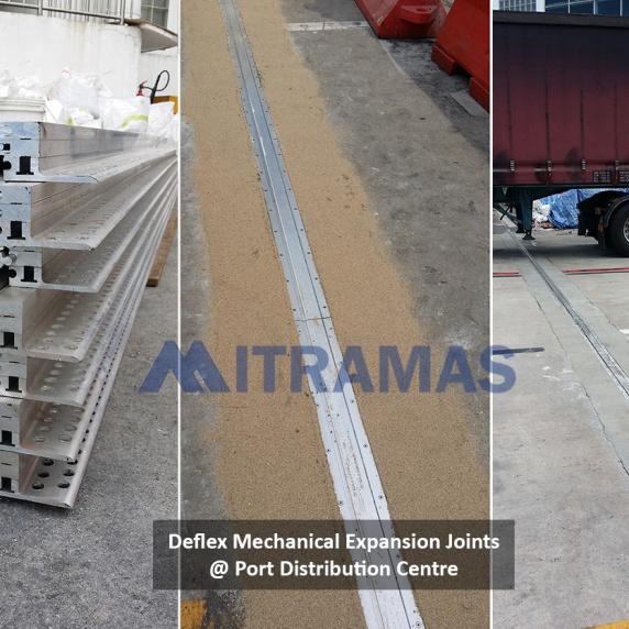Deflex Mechanical Expansion Joints @ Port Distribution Centre